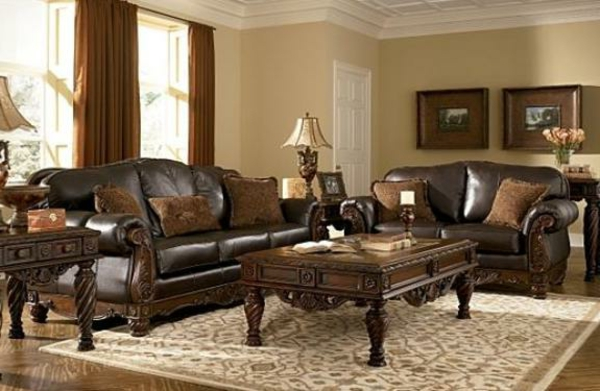 Awesome Wohnzimmer Couch Leder Photos - Home Design Ideas - milbank.us
