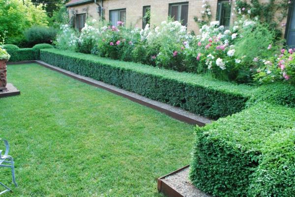 Buchsbaum formen einige tipps und beispiele - Buchsbaum garten ...