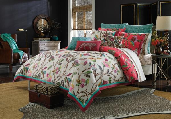 best bunte bettwasche und kissen schlafzimmer auffrischen images, Schlafzimmer entwurf