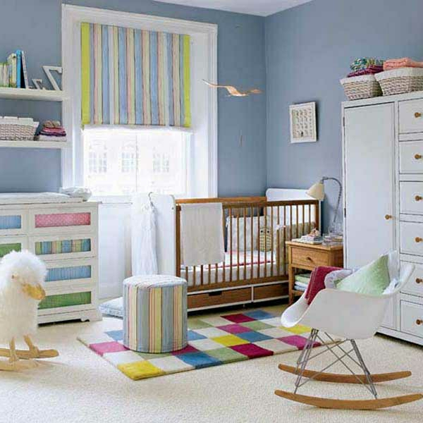 neue farbideen für kinderzimmer! - archzine, Schlafzimmer design