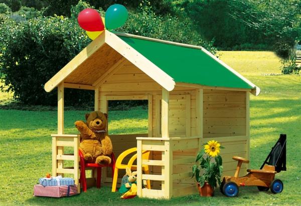 bunte -gartenhäuser-sehr-süß-aussehen- kinderhaus gestalten