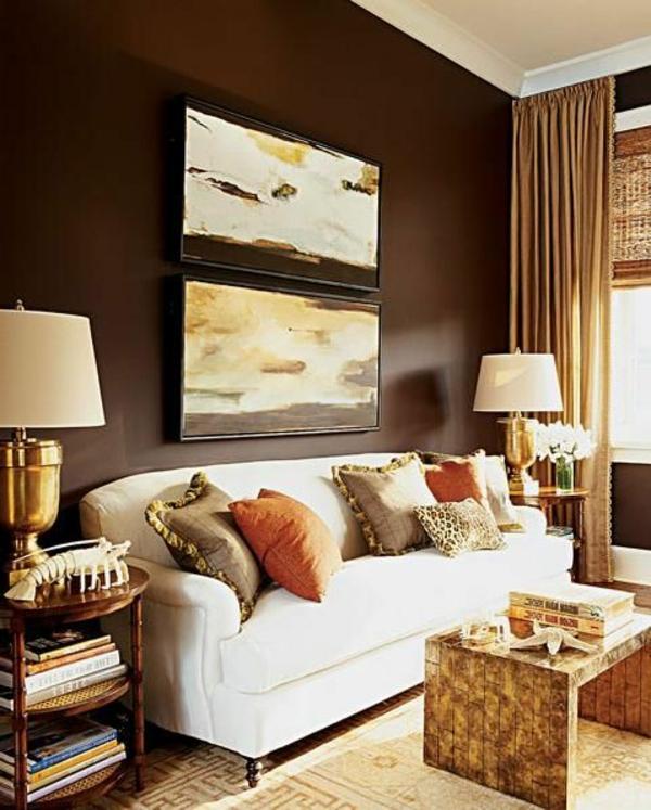 de.pumpink.com | wohnzimmer braun beige streichen