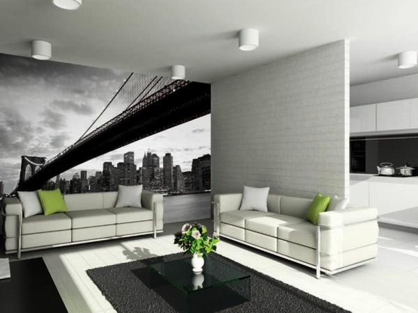 Jazz Im Wohnzimmer New York : Dekotapete – ein Schatz für Ihre ...