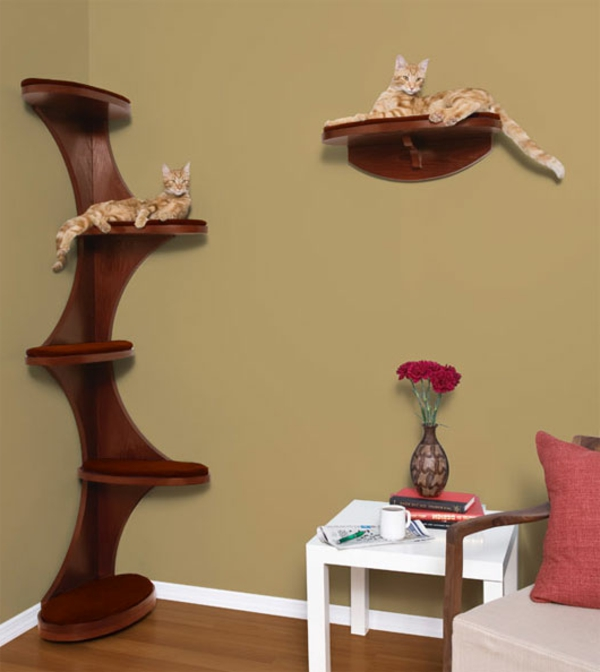 design katzenm bel f r brave katzen. Black Bedroom Furniture Sets. Home Design Ideas