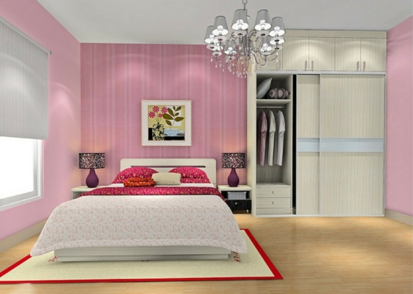 pinke wandfarbe 31 super beispiele. Black Bedroom Furniture Sets. Home Design Ideas