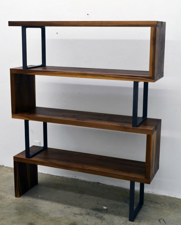 Bücherregal selber bauen - 55 Ideen!