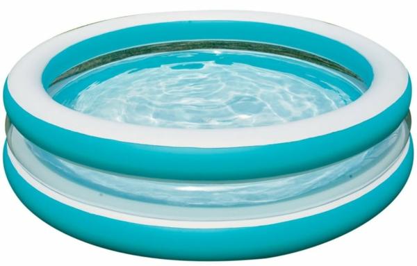 ein-foto-von-einem-runden-pool-hintergrund in weiß