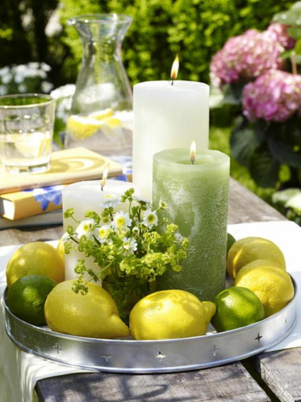 banane und zitrone die perfekte dekoration. Black Bedroom Furniture Sets. Home Design Ideas