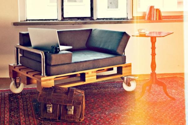 Lounge sessel aus europaletten - Sitzmobel aus paletten ...