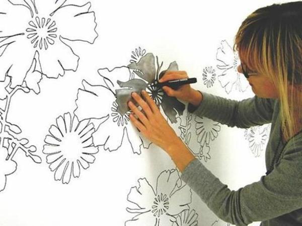 Farbideen f r schlafzimmer 23 neue ideen for Schlafzimmer malen