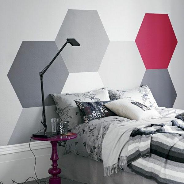 farbideen-für-schlafzimmer-geometrie