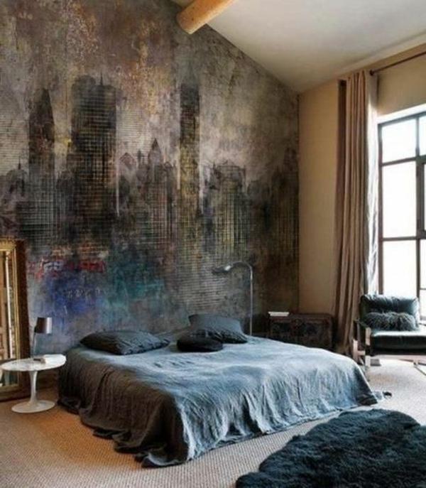 farbideen-für-schlafzimmer-malerei
