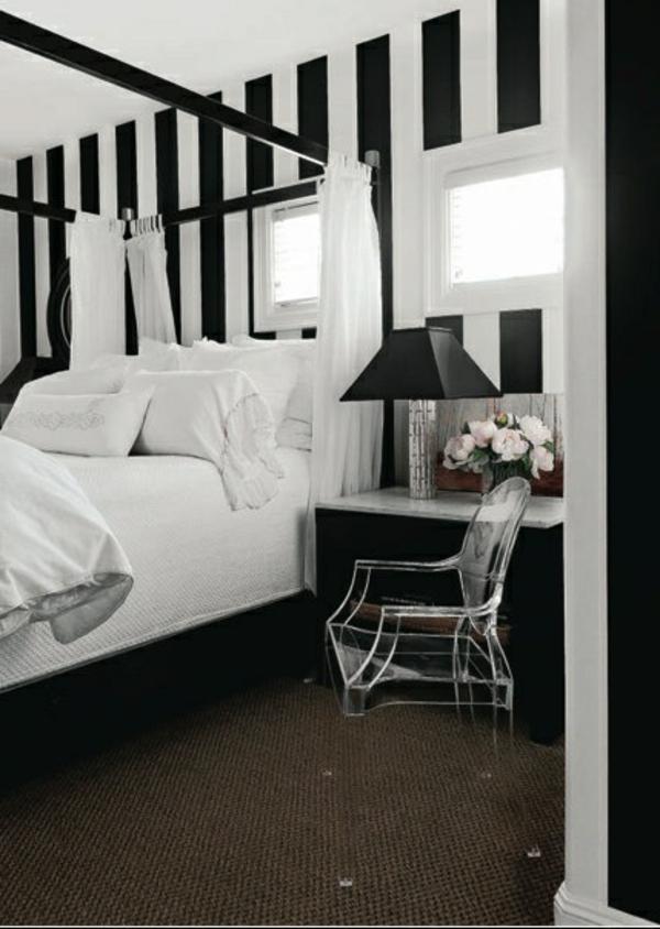 farbideen-für-schlafzimmer-schwarz-weiß