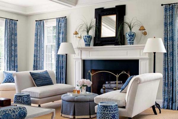 farbideen-für-wohnzimmer-blau-und-weiß-motiven