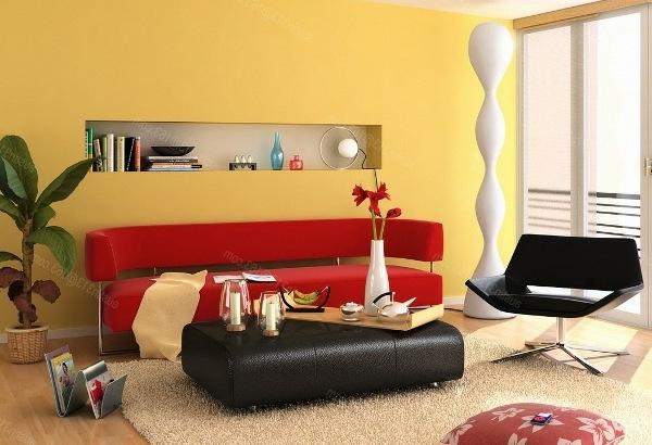 design wandgestaltung wohnzimmer gelb farbideen wohnzimmer wand brimobcom for - Gelbe Dekowand Blume Fr Wohnzimmer