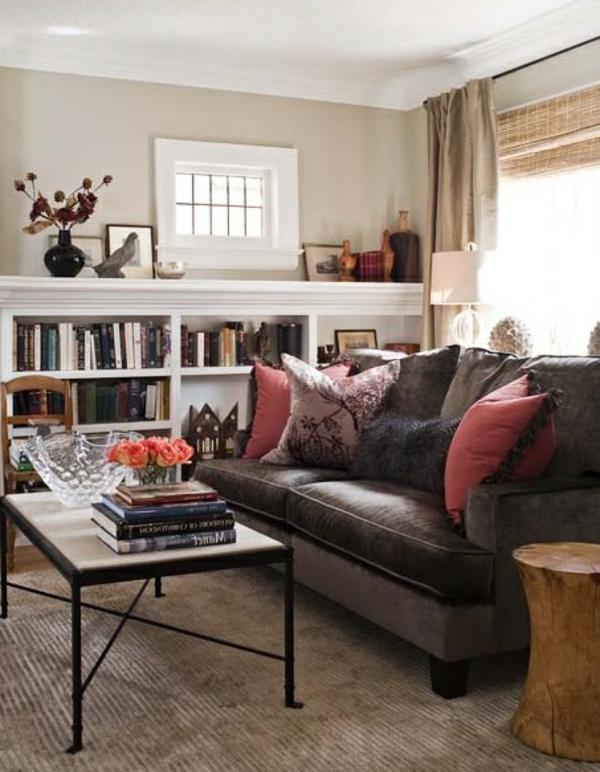 w rme und herzlichkeit durch wandfarbe braunt ne. Black Bedroom Furniture Sets. Home Design Ideas