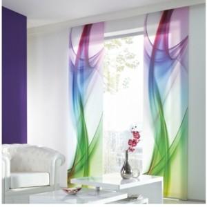 Gardinenideen mit Farbstimmung - Hängen Sie die Farben auf!