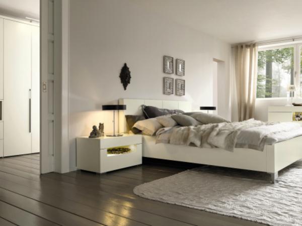 Schlafzimmer in weiss einrichten das beste aus for Relax zimmer einrichten