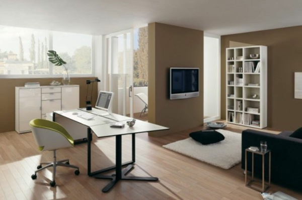 Arbeitszimmer einrichten feng shui  Feng Shui im Arbeitszimmer - seien Sie noch effektiver! - Archzine.net