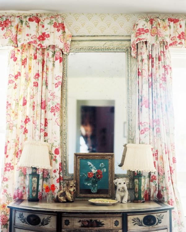 gardinenvorschläge-rosa-blumen