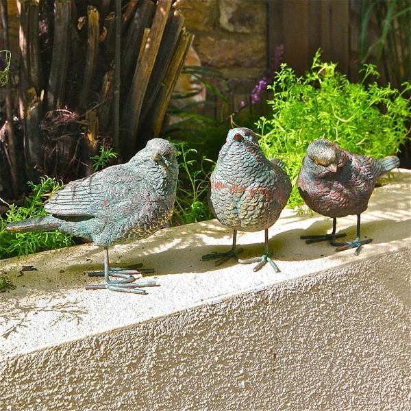 gartenfiguren-tiere-tauben