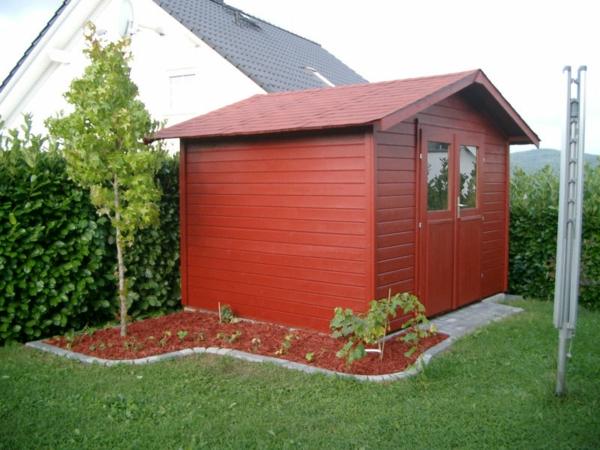 Gartenhaus Kleiner Garten | Die schönsten Einrichtungsideen
