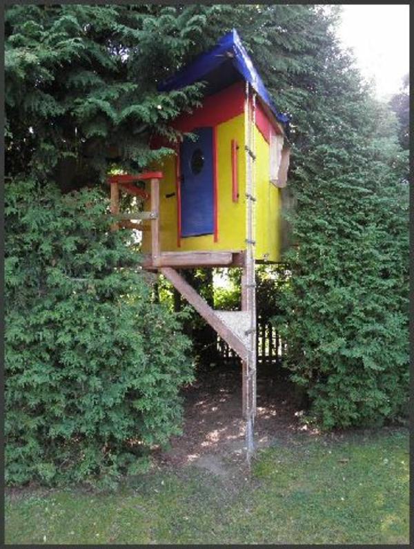 gartenhaus-streichen-ideen- bunte farben auswählen