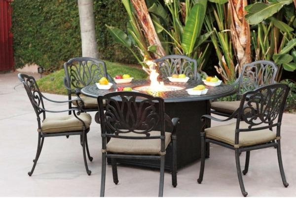 Gartenmobel Tisch Grob : haben für Sie diese zahlreichen Beispiele für Gartenmöbel aus Eisen