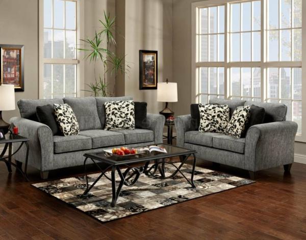 Einrichten mit farben graue farbe mehr als melancholie for Dunkelbraune wohnwand