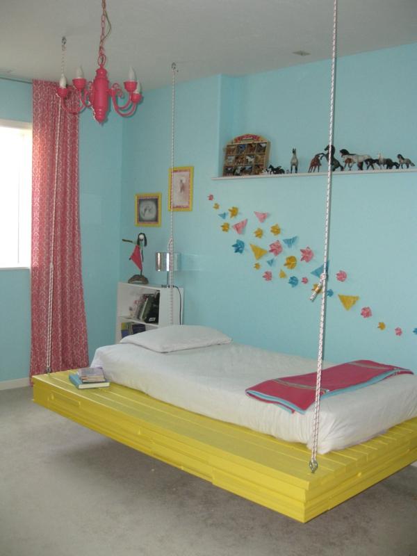 ein h ngendes bett zu hause neue 20 ideen. Black Bedroom Furniture Sets. Home Design Ideas
