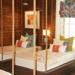 Ein hängendes Bett zu Hause - neue 20 Ideen!