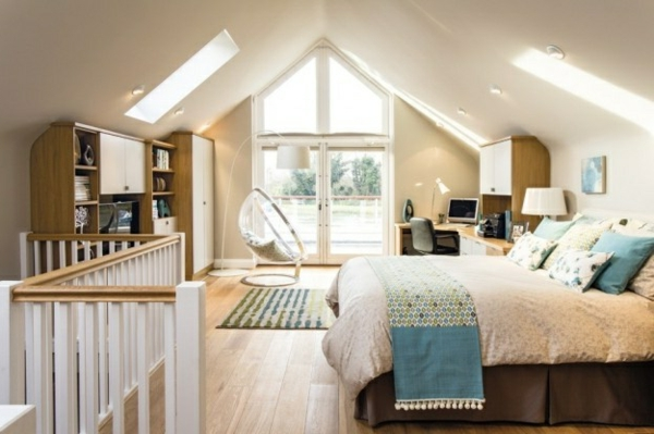Möchten Sie ein traumhaftes Dachgeschoss einrichten? 40 tolle Ideen!