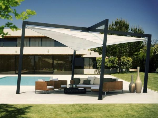 hochwertige sonnenschirme 22 moderne vorschl ge. Black Bedroom Furniture Sets. Home Design Ideas