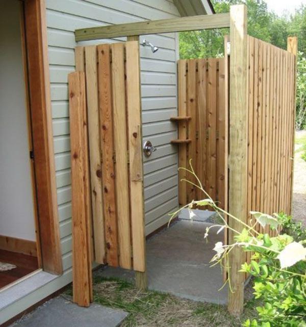 Sichtschutz Für Gartendusche 35 Tolle Beispiele Archzine Net