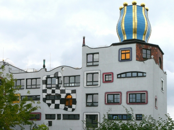 hundertwasser-kunst-Luther-Melanchthon-Gymnasium-wittenberg