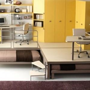 Ideen für Kinderzimmergestaltung - Doppelt macht Spaß!