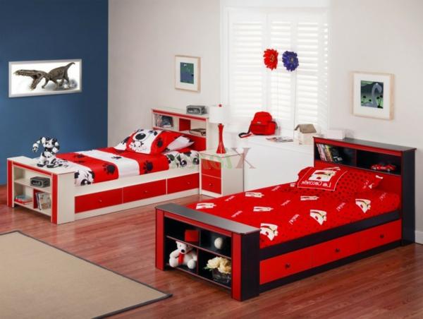 ideen-für-kinderzimmergestaltung-gerade-rot-weiß2