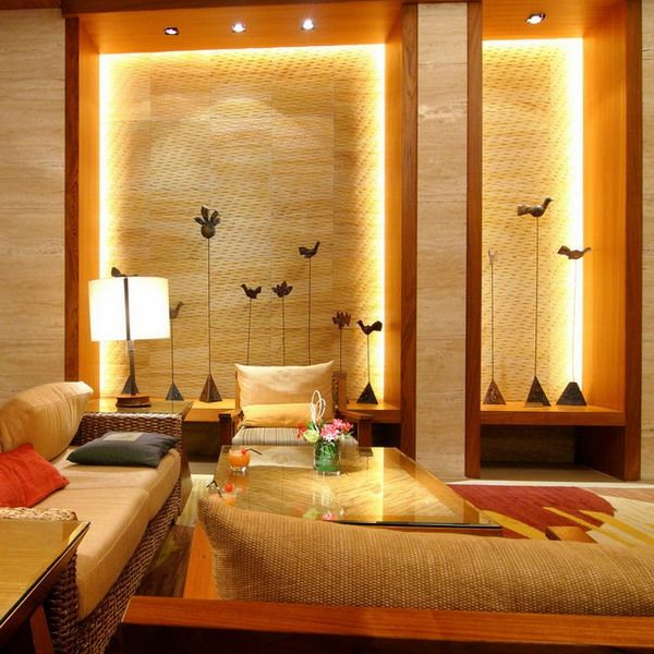 61 coole beleuchtungsideen für wohnzimmer! - archzine.net - Esszimmer Indirekte Beleuchtung