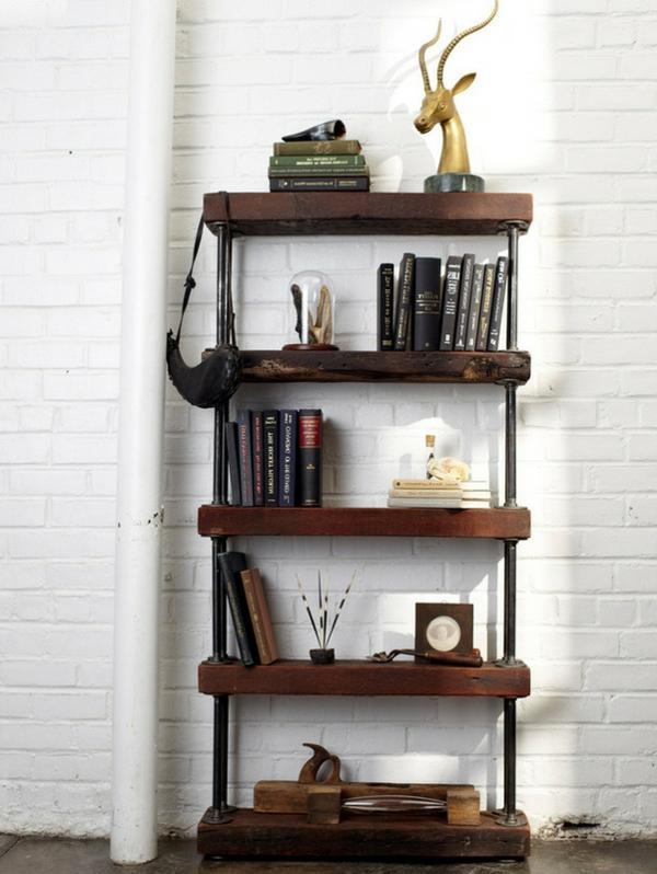 b cherregal selber bauen 55 ideen. Black Bedroom Furniture Sets. Home Design Ideas