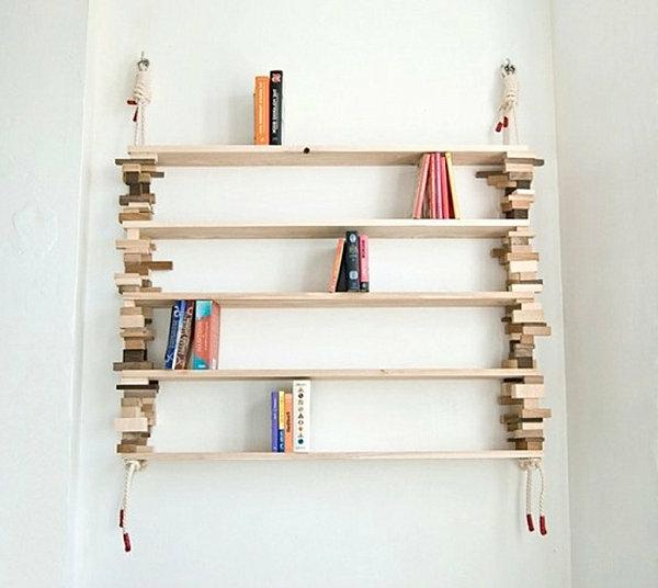 Super Bücherregal selber bauen - 55 Ideen! - Archzine.net AB35