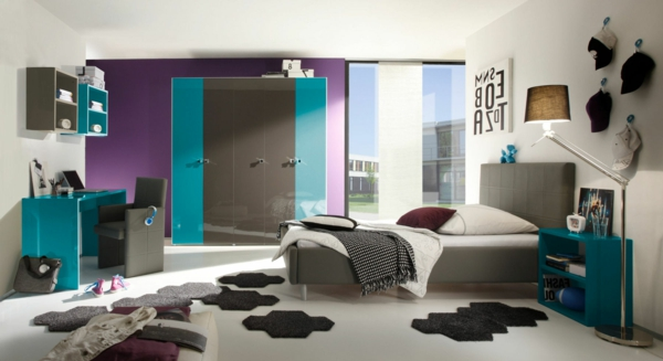 25 neue ideen f r jugendzimmergestaltung. Black Bedroom Furniture Sets. Home Design Ideas