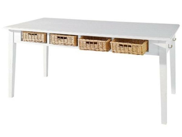 k chenl sungen f r kleine k chen versteckte rattanboxen unter dem. Black Bedroom Furniture Sets. Home Design Ideas
