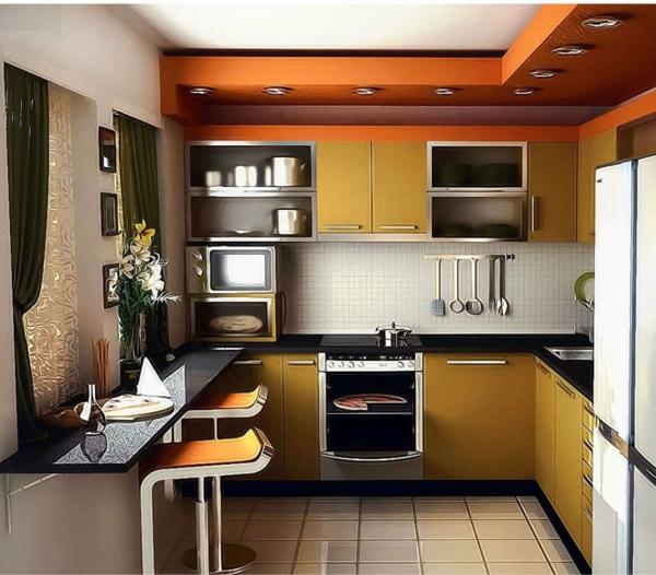 küchenlösungen-für-kleine-küchen-den-Platz-praktisch-einrichten
