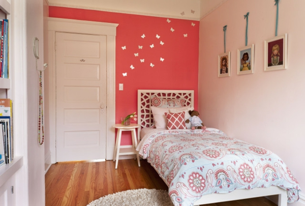 Pinke Wandfarbe - 31 Super Beispiele! - Archzine.Net