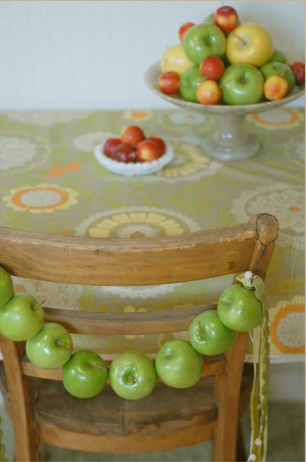 kreative-apfel-deko- für den tisch