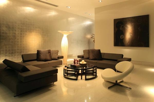 Kreative Beleuchtungsideen Fr Wohnzimmer Super Schne Lampe