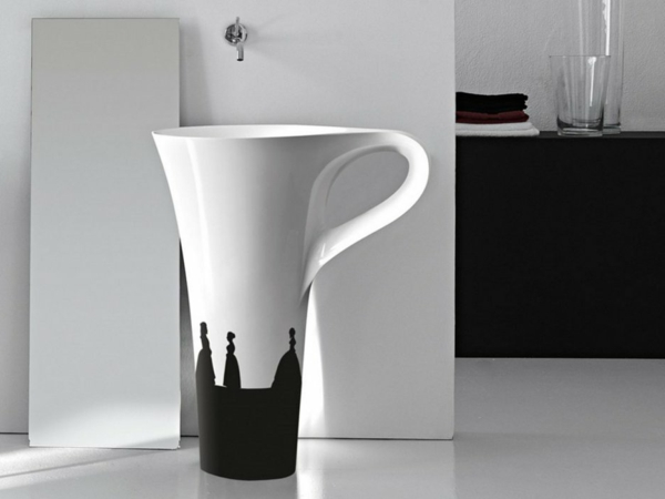 kreative waschbecken herausforderung im badezimmer. Black Bedroom Furniture Sets. Home Design Ideas