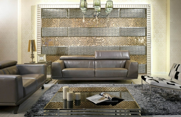 leather-grey-sofa-sets-design-with-fur-rugs-and-lucite-table-with-unique-chair-also-amazing-backdrop-graue-farbe
