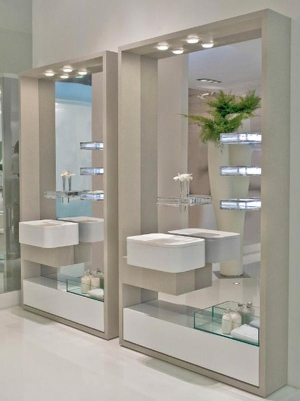 leuchten-für-spiegel-im-modernen-badezimmer-helle gestaltung