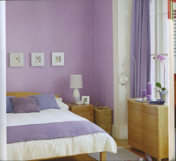 Wandfarbe Violett Lila Kolorat Eine Auswahl In Lila: Einrichten Mit Farben: LIla Farbtöne Für Magische